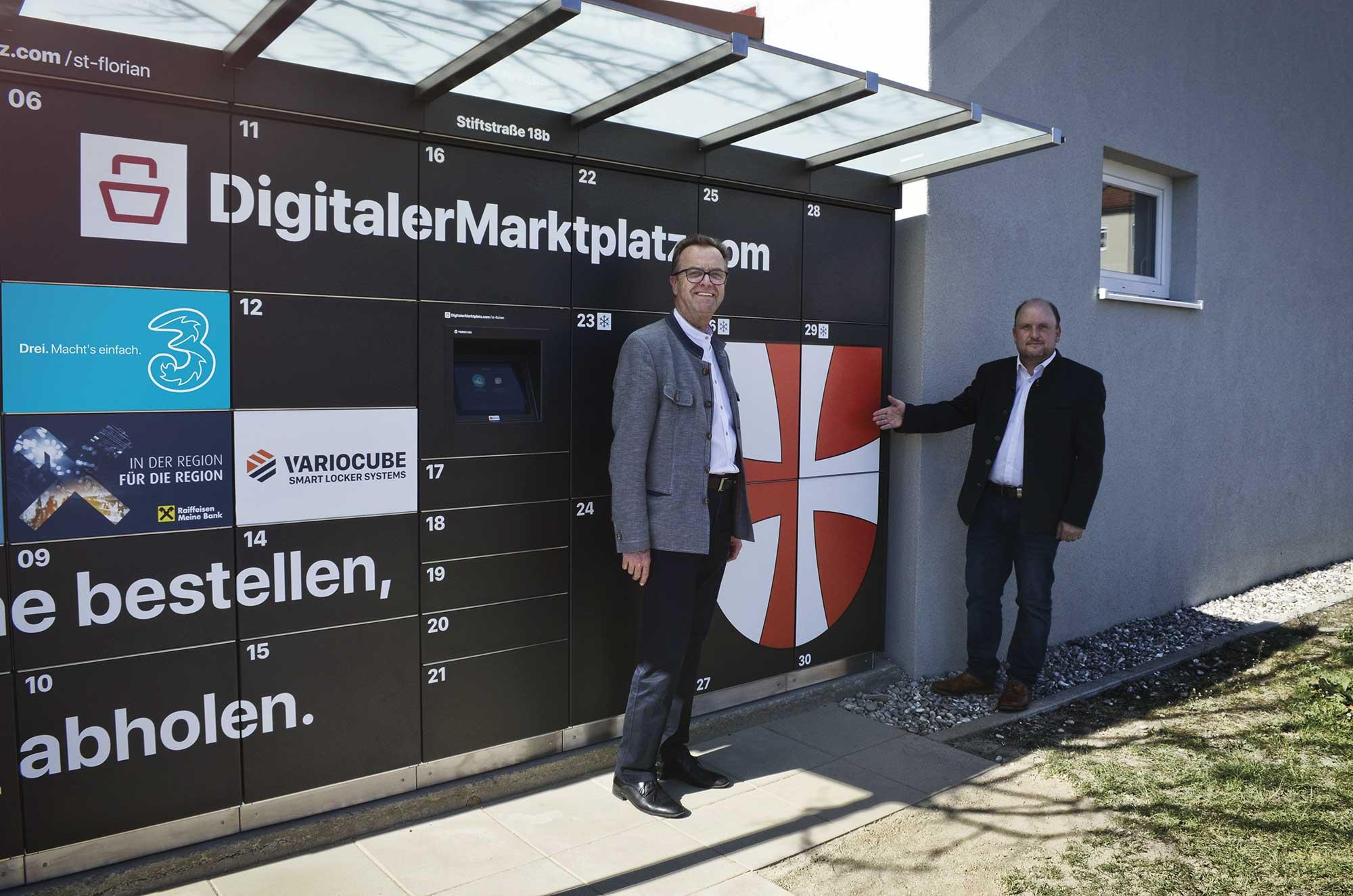 © Lehmann | V.l.: Bürgermeister Robert Zeitlinger und Vizebürgermeister Bernd Schützeneder