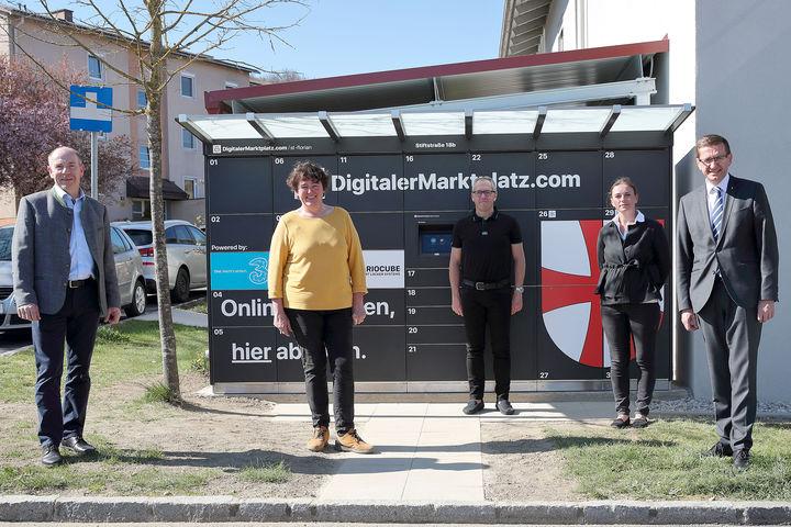Digital trifft auf Regional - DigitalerMarktplatz